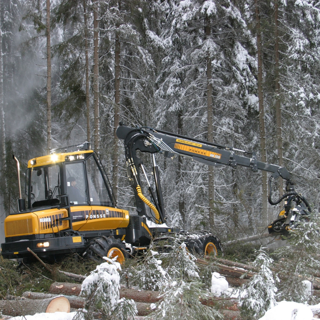 Porteur forestier TFZ